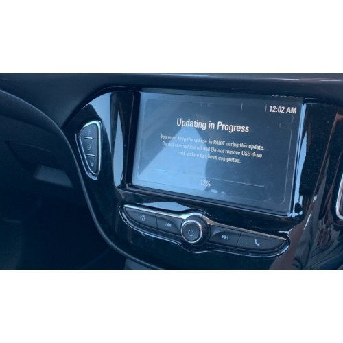 Corsa-E/Adam Infotainment Software Update