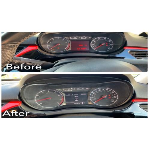 Corsa-E LCD Instrument Cluster Upgrade