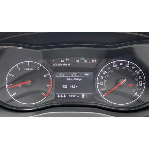 Corsa-E Speedometer Extra Menus
